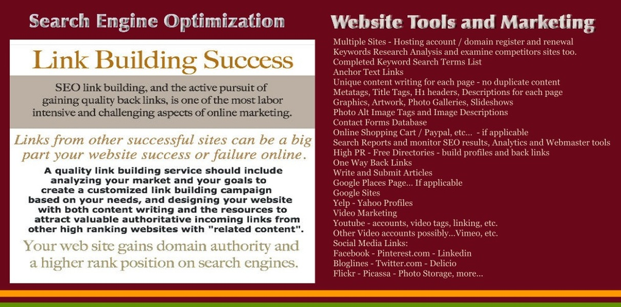 Tools for Effective Web Seo